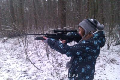 Настоящая спортивная пневматическая винтовка  - Други в лесуууууу.jpg